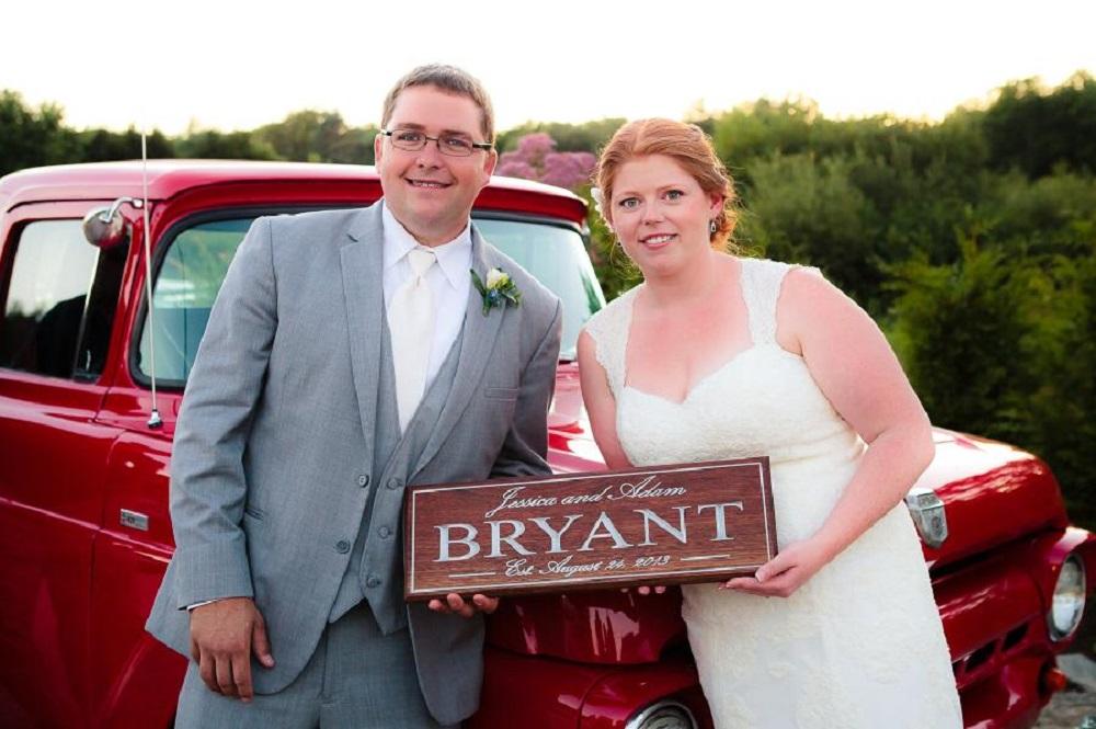 Jessica and Adam Wedding Gift