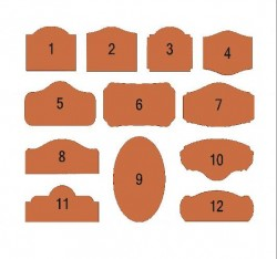 Sign Shapes 1-12
